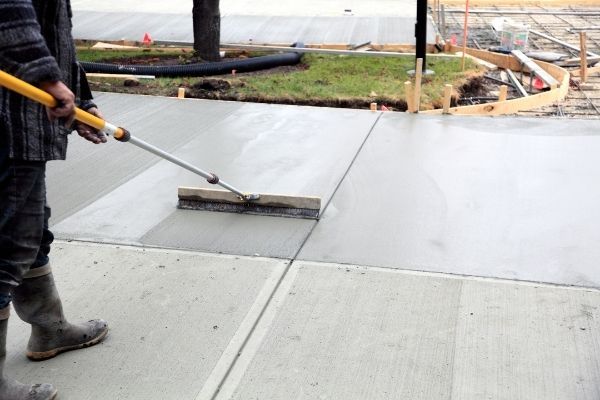 stamped concrete Vancouver